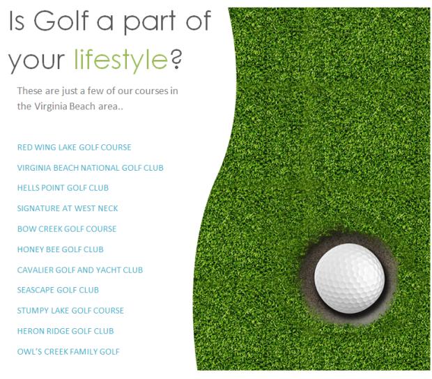 golf in va